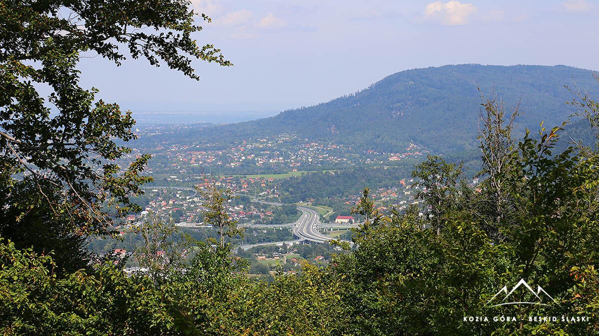 Panorama na Bielsko-Biała