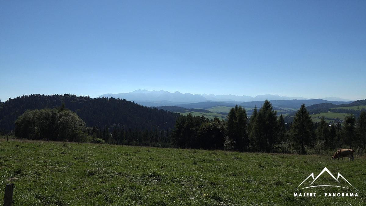panorama łąka majerz