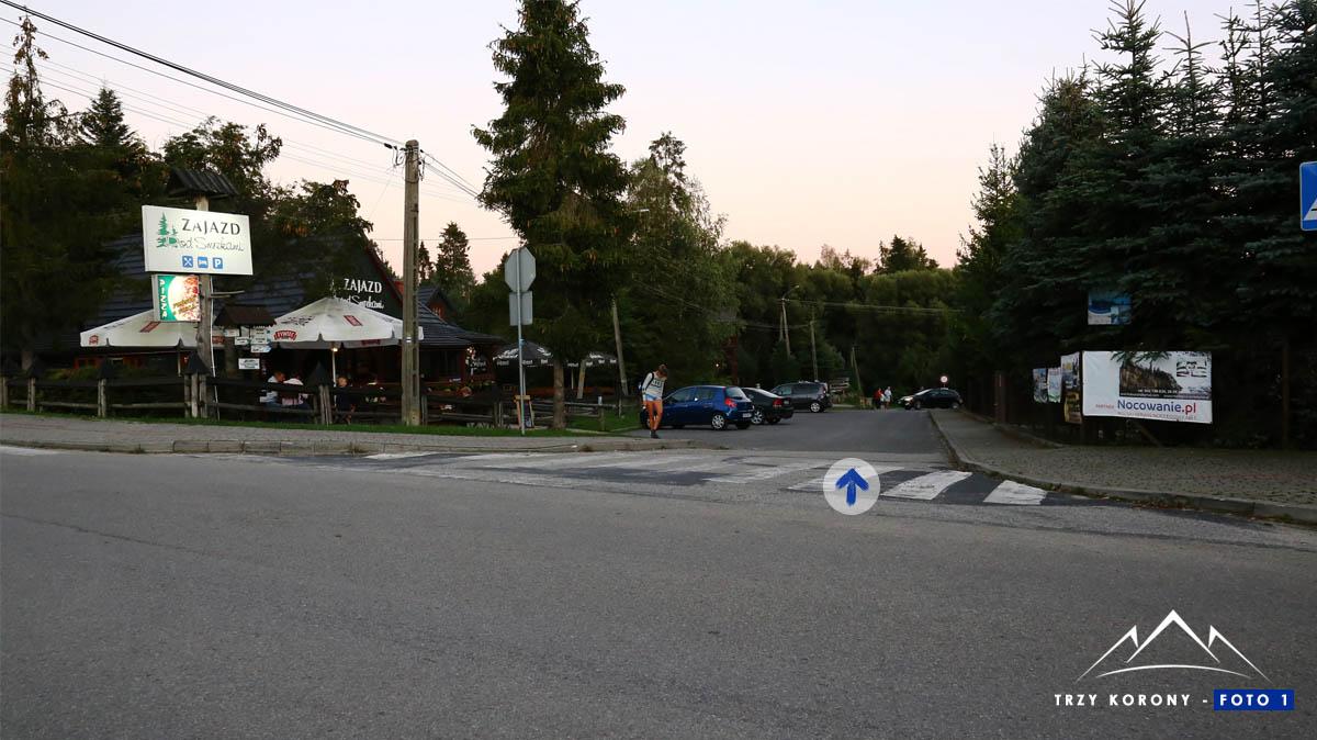 Czorsztyn ulica Zamkowa