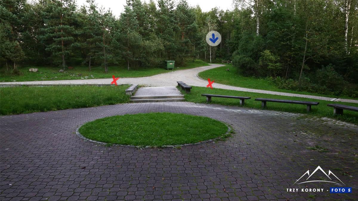 Wejście Pieniński Park Narodowy